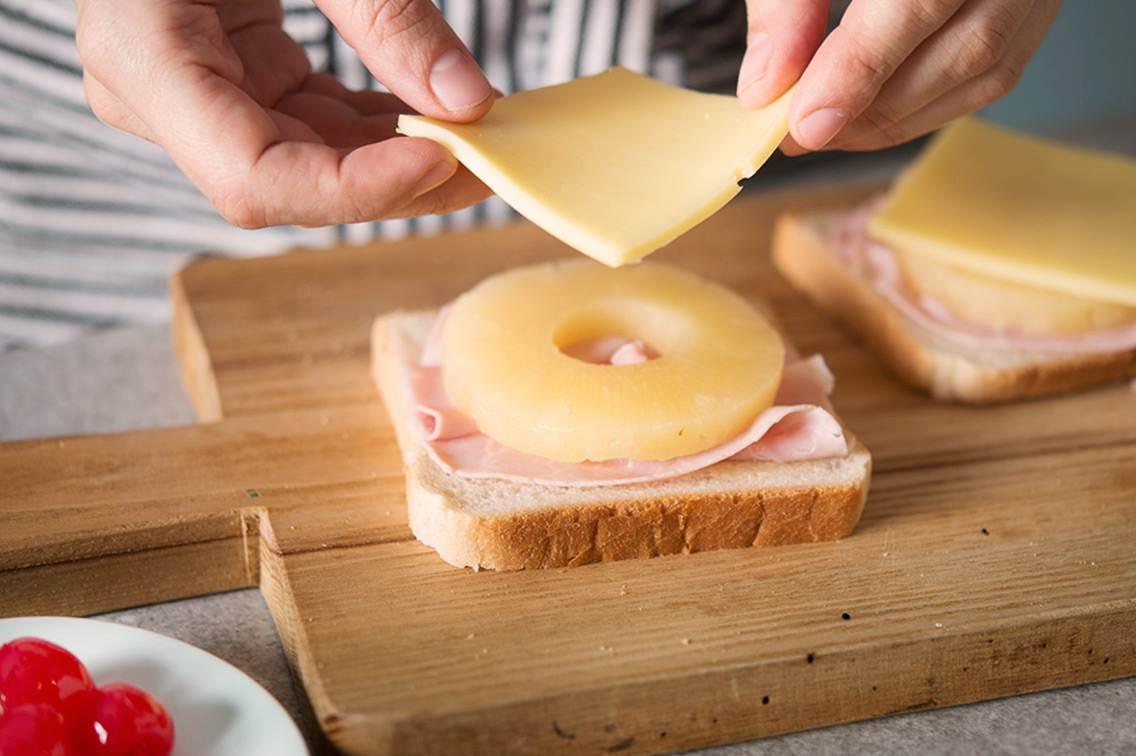 toast hawaii golden toast. Black Bedroom Furniture Sets. Home Design Ideas